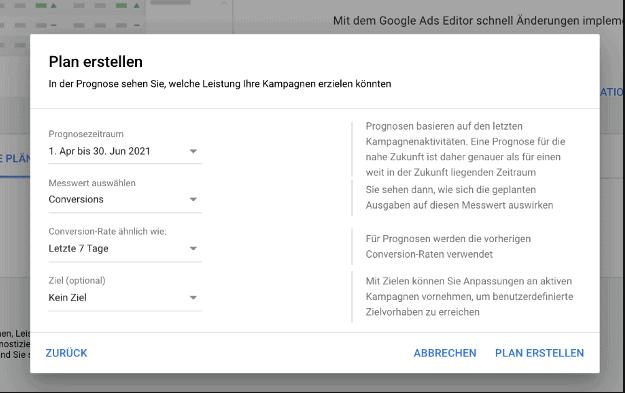 Leistungsplaner Google Ads Blogbeitrag 3
