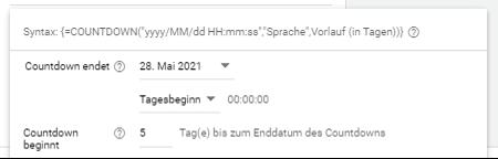 Countdownfunktion Google Ads Bild 3