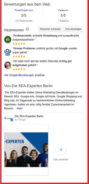 Google My Business Detail