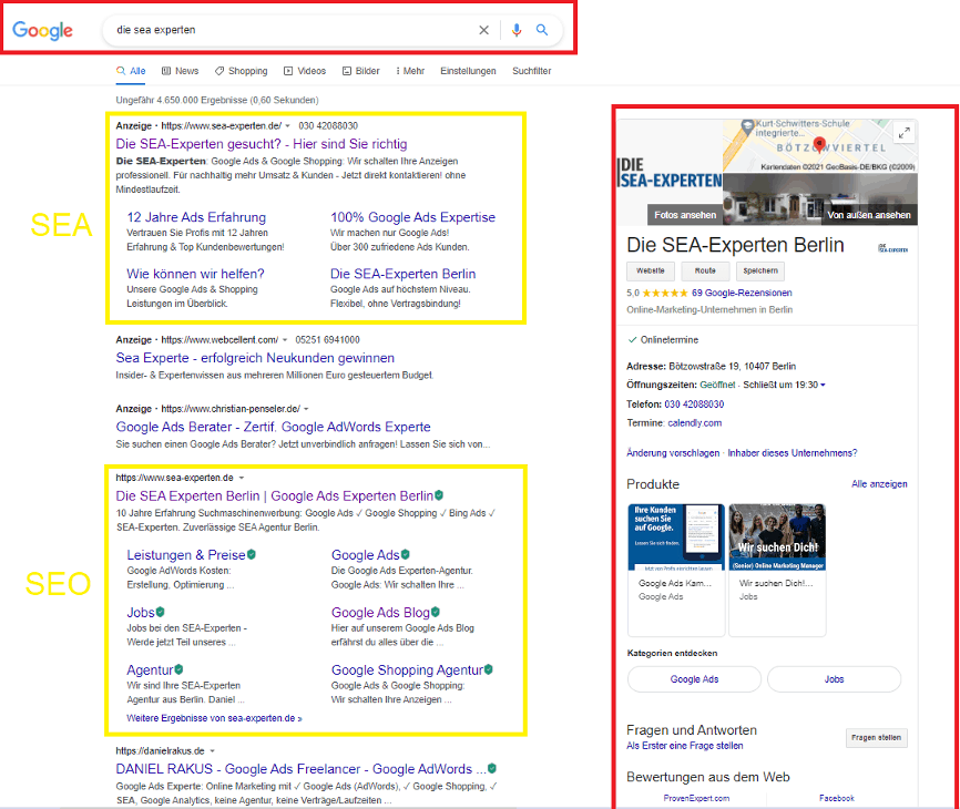 Was ist Google My Business