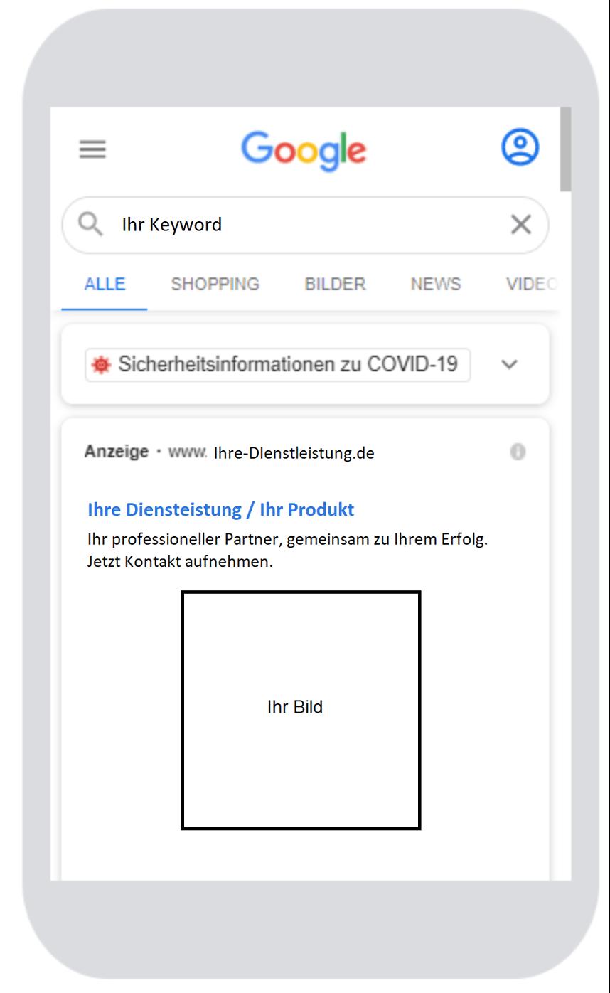 Google Ads Bilderweiterung