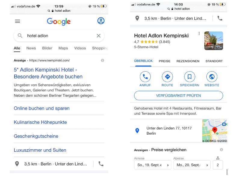 Google Ads für Hotels Bild 1